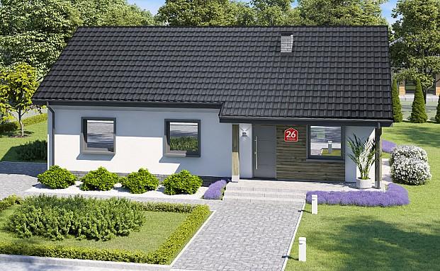 projekt domu przy bukowej 26